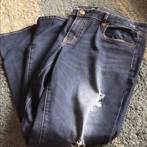 American Eagle ripped skinny Stretch Jegging 18
